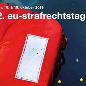 12th EU Criminal Law Day 2019 - Lecture on mutual legal assistance in criminal matters with third-partie states