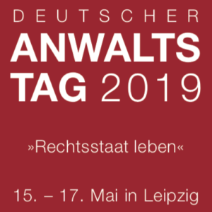 German Lawyers' Day 2019 - Lecture on the reform of police laws