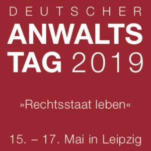 Deutscher Anwaltstag 2019 – Vortrag zur Reform der Polizeigesetze
