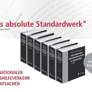Dr. Gazeas wird Mitherausgeber des Standardwerks zur Internationalen Rechtshilfe in Strafsachen Grützner/Pötz/Kreß/Gazeas