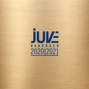 Empfehlung im JUVE-Handbuch Wirtschaftskanzleien 2020/2021