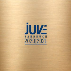 Recommendation in the JUVE Handbook of Commercial Law Firms 2020/2021