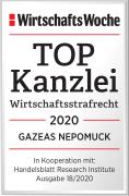 WiWo_TOPKanzlei_Wirtschaftsstrafrecht_2020_GAZEAS_NEPOMUCK_Web