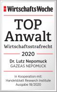 WirtschaftsWoche TOP Anwalt Dr. Lutz Nepomuck_Web